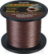 Plecionka Expert - brown - 0,24mm/15,90kg - 600m