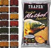 Zanęta Traper Method Feeder - Halibut czarny - 750g